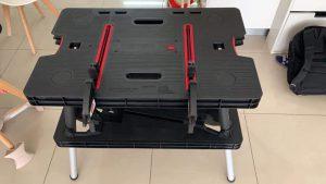 שולחן עבודה מתקפל דגם KeterPRO עם זוג כליבות + סקירת וידאו